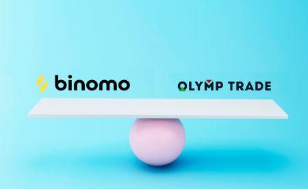 Perbandingan Binomo dan Olymp Trade