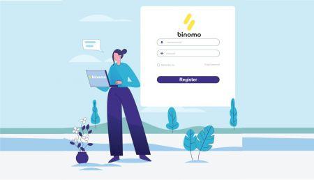 Cara Masuk dan Verifikasi Akun di Binomo
